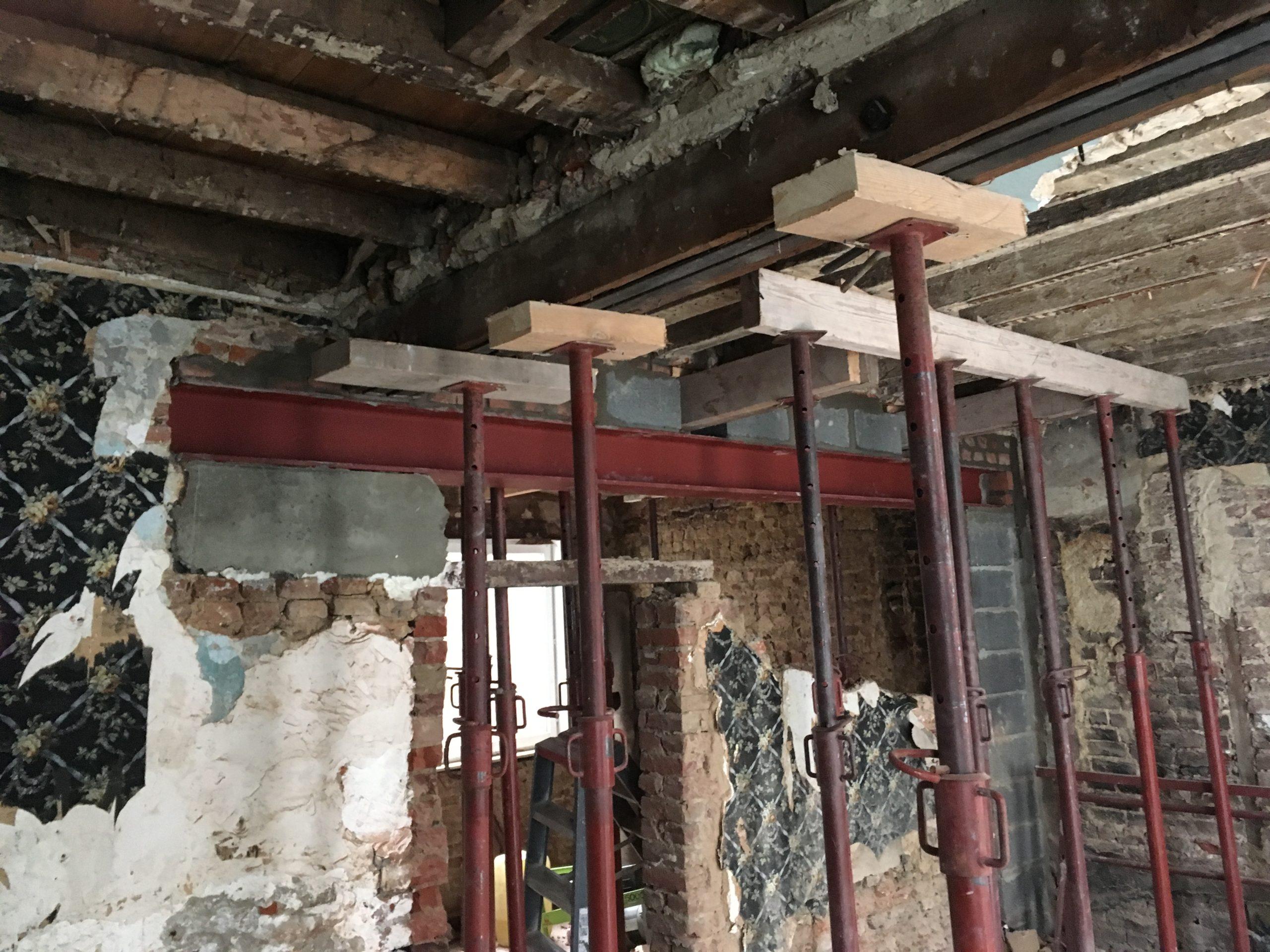 Rénovation maison de ville à Tournai (2)