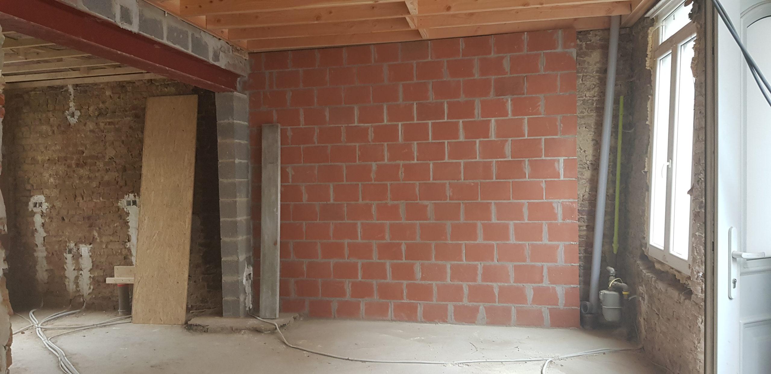Rénovation maison de ville à Tournai (3)